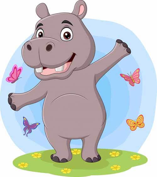 Cuento de un hipopotamo